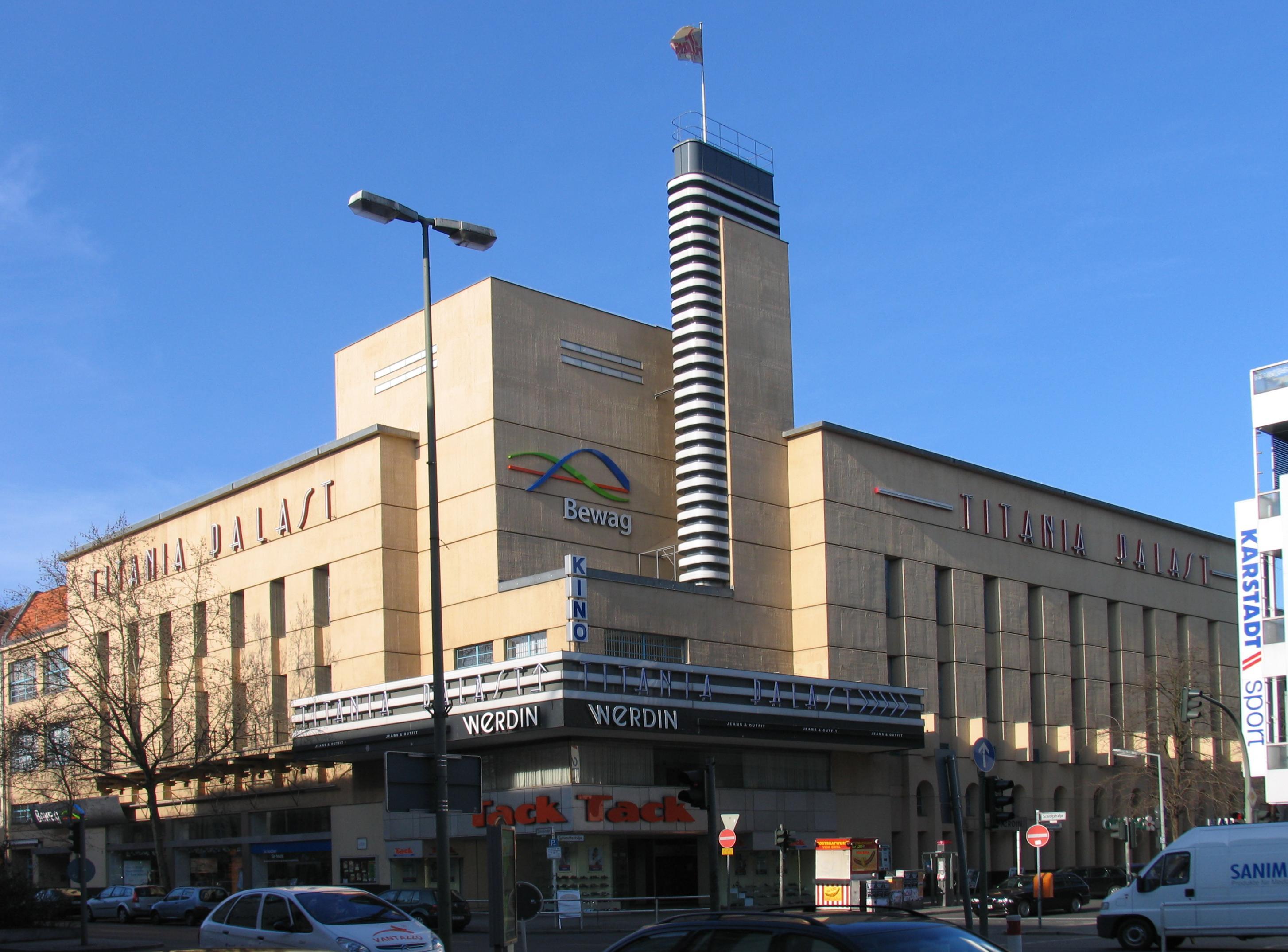 Kinoprogramm Titania Palast Berlin Steglitz