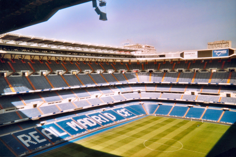 Bernabeu Stadion Sitzplätze