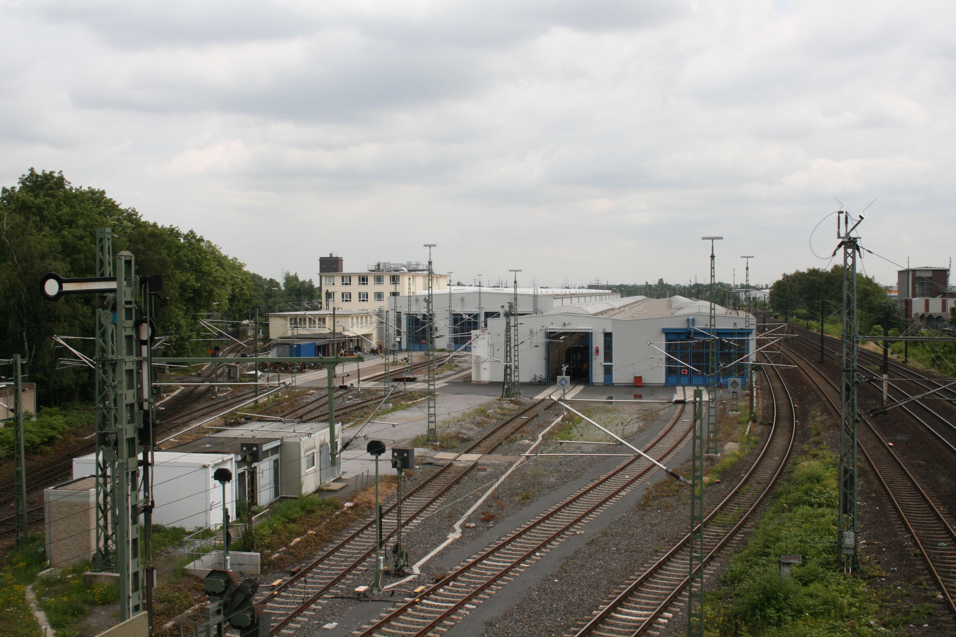 Bahnbetriebswerk dortmund betriebsbahnhof for Depot kamen