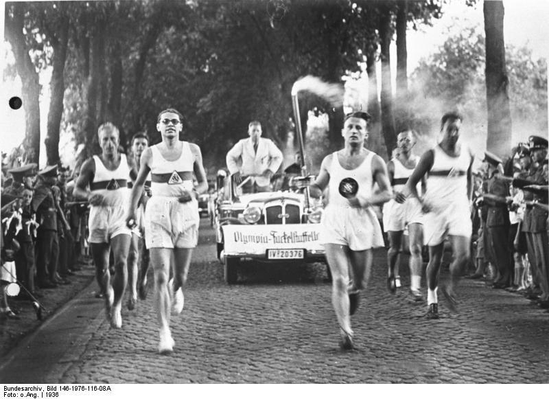 Olympia Fackel 1948
