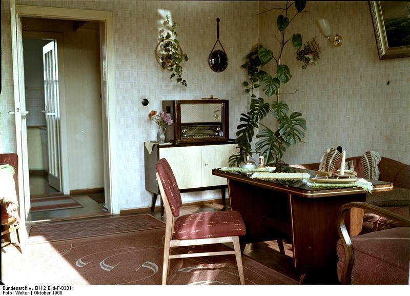 Wohnzimmer for Wohnzimmer 1950