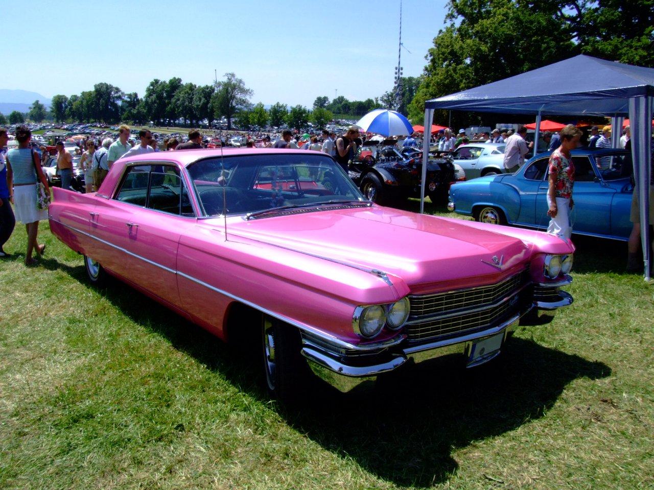 1963 and 1964 Cadillacs .