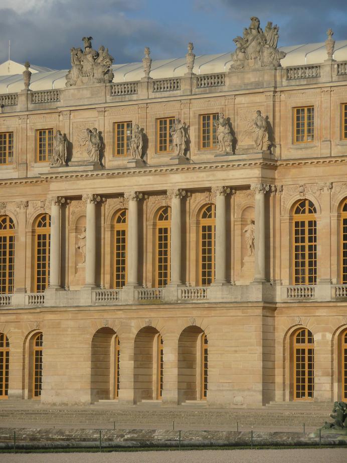 Schloss Versailles Gartenfassade : Schloss versailles