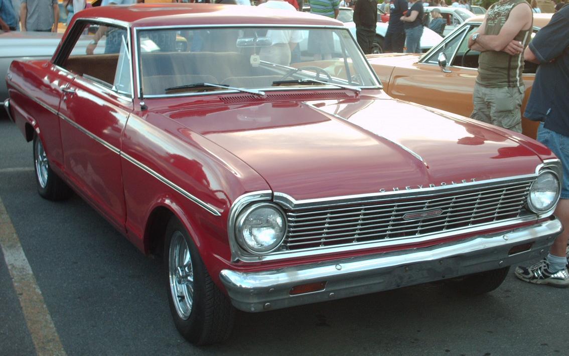 Chevrolet Nova - Первое поколени…