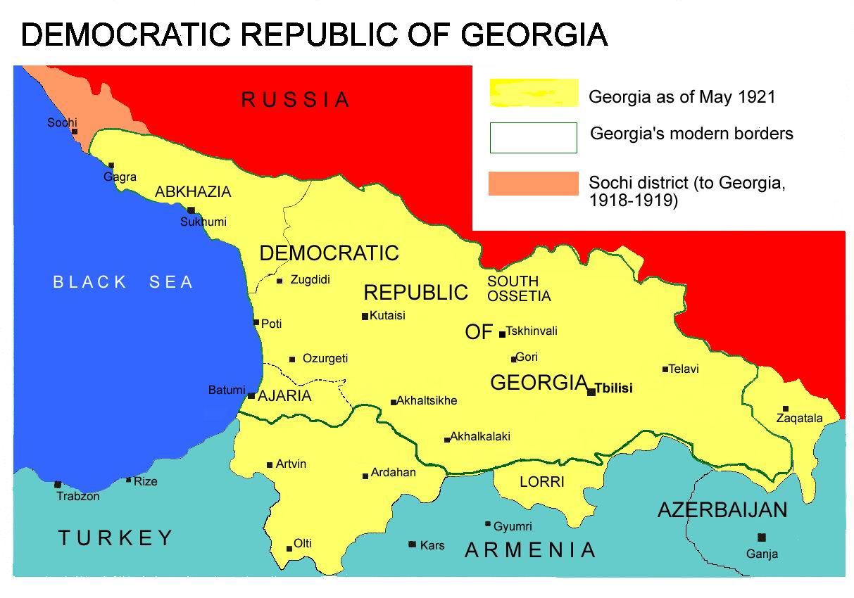 Zeitzone Georgien
