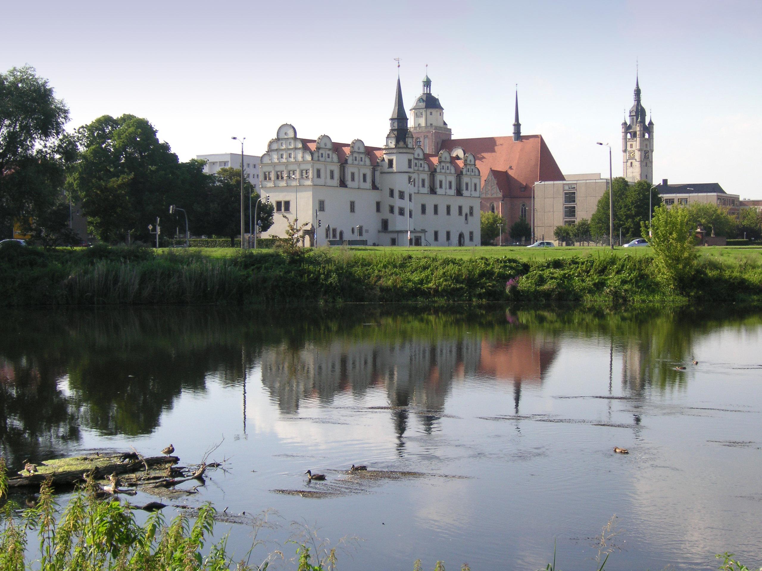 Dessau-Rosslau Germany  city photos gallery : Blick auf Dessau von der Mulde