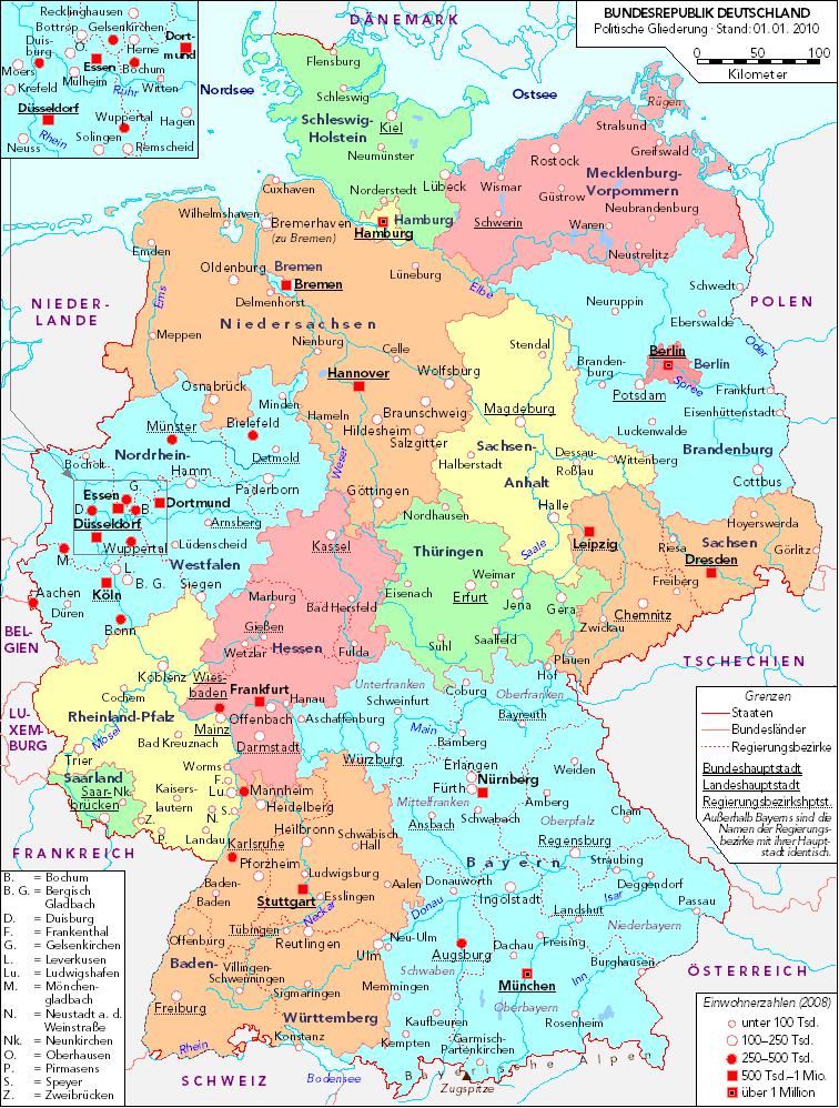 Liste Der Größten Städte In Deutschland