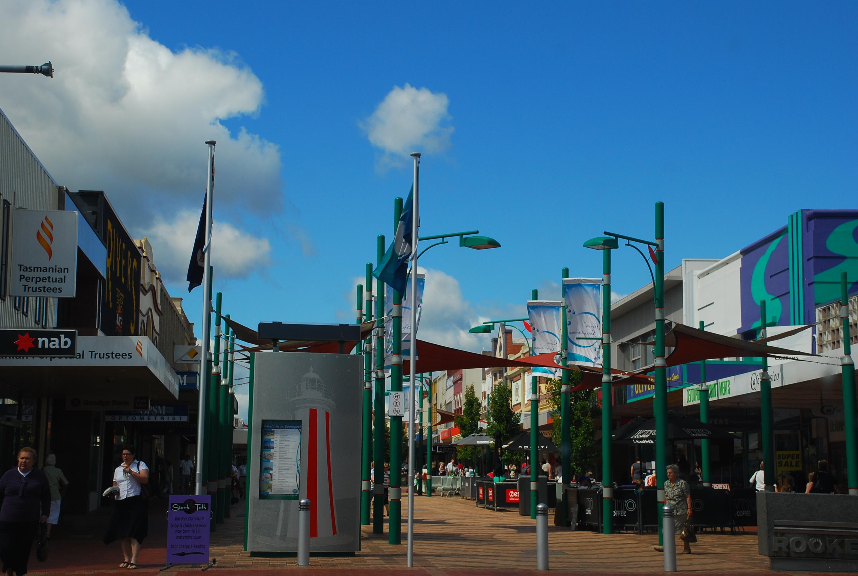 Devonport Australia  city pictures gallery : Devonport Center Street