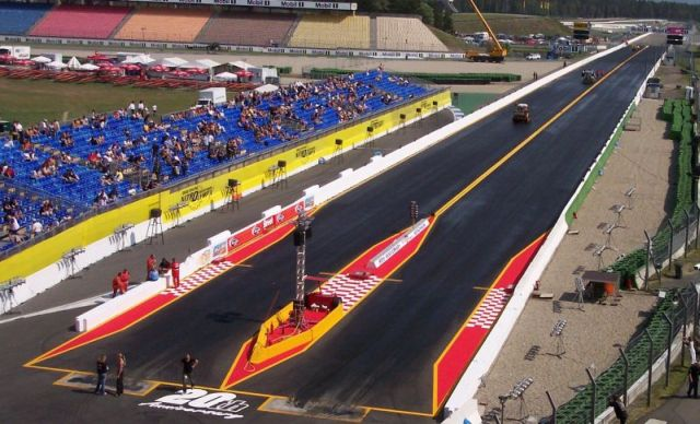 Car Road Race Course Germany