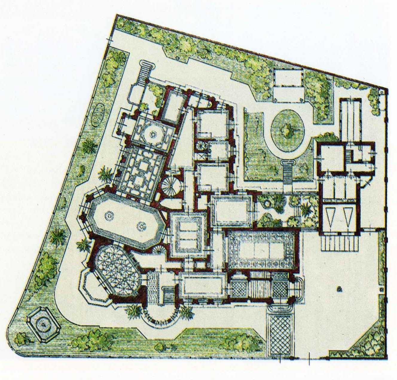 Haus beuststra e 1 dresden for Moderne villa grundriss