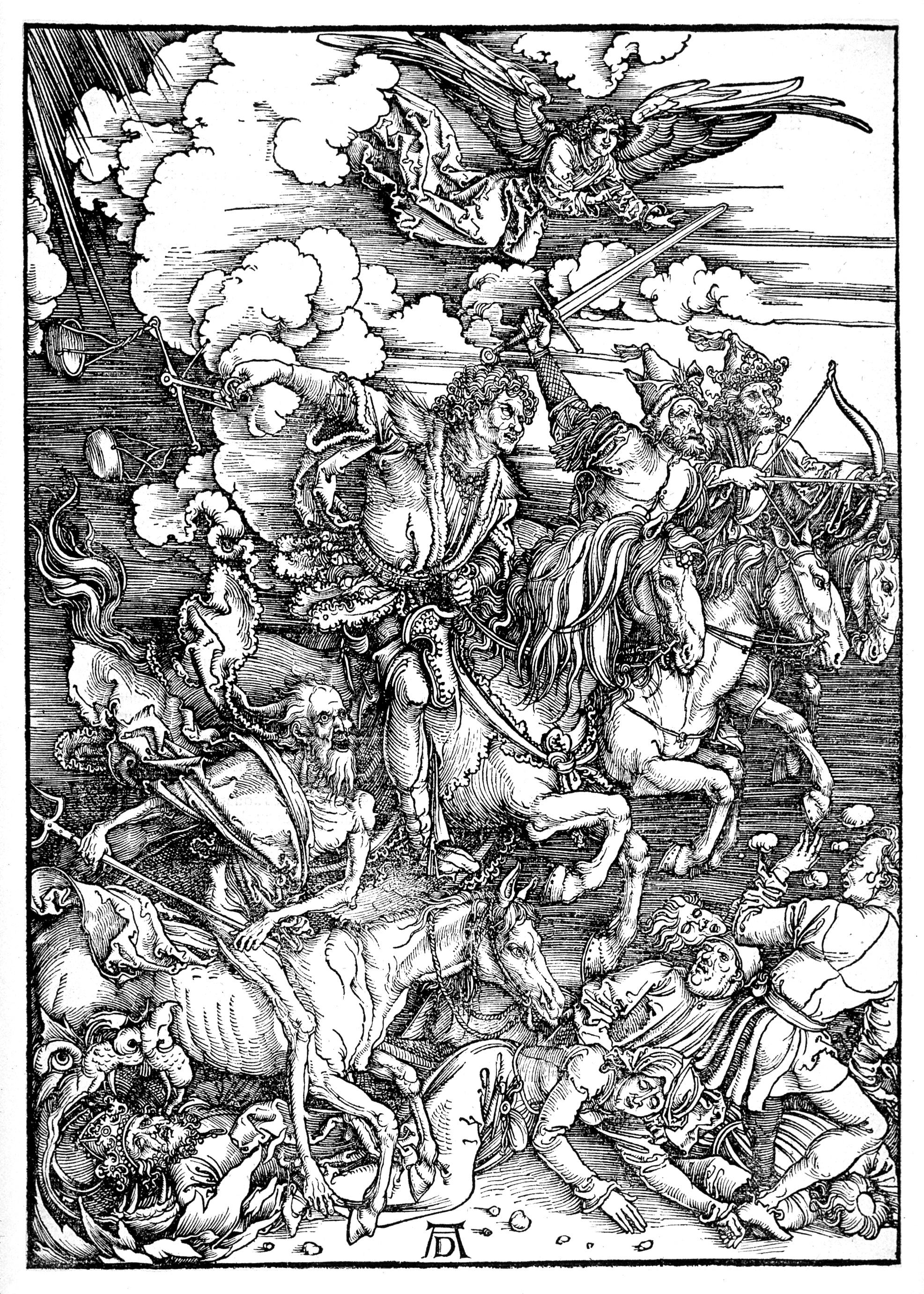 Vier Apokalyptischen Reiter