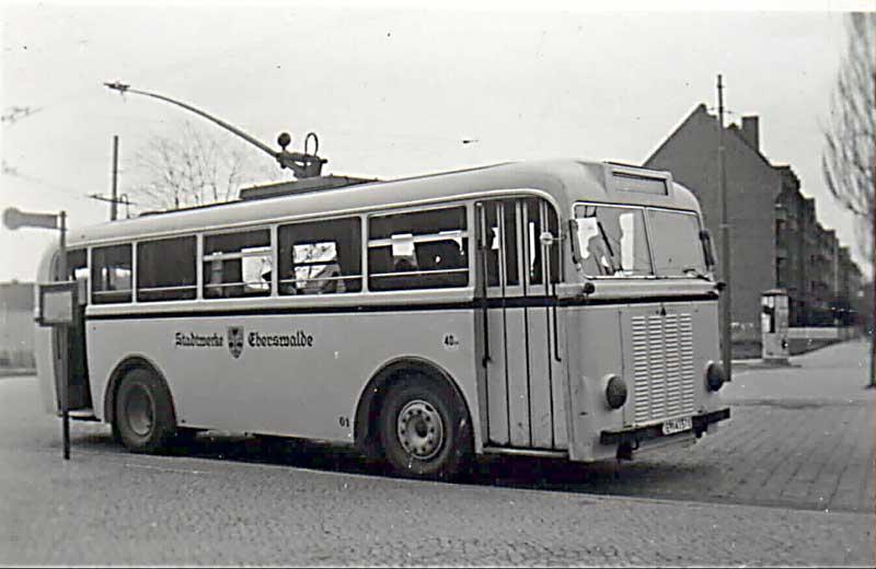 Oberleitungsbus Eberswalde