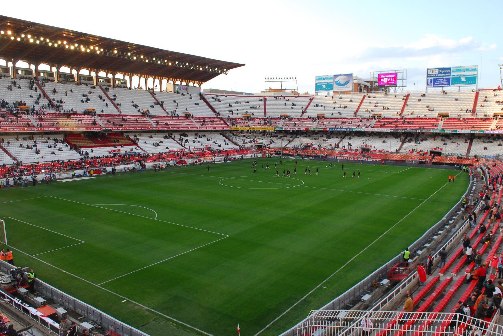 El estadio del FC Sevilla