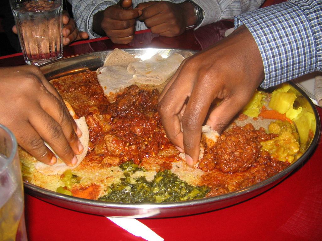 Äthiopische Küche