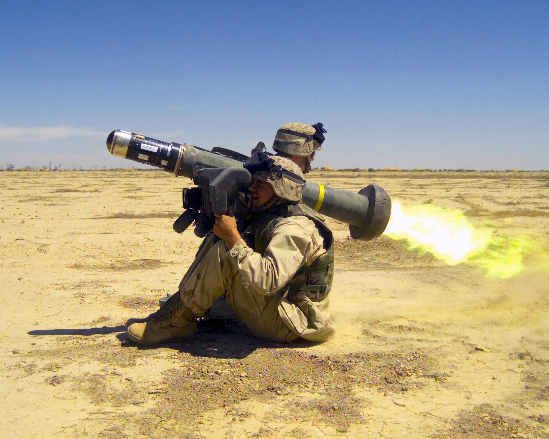 FGM-148 Javelin Misil antitanque!