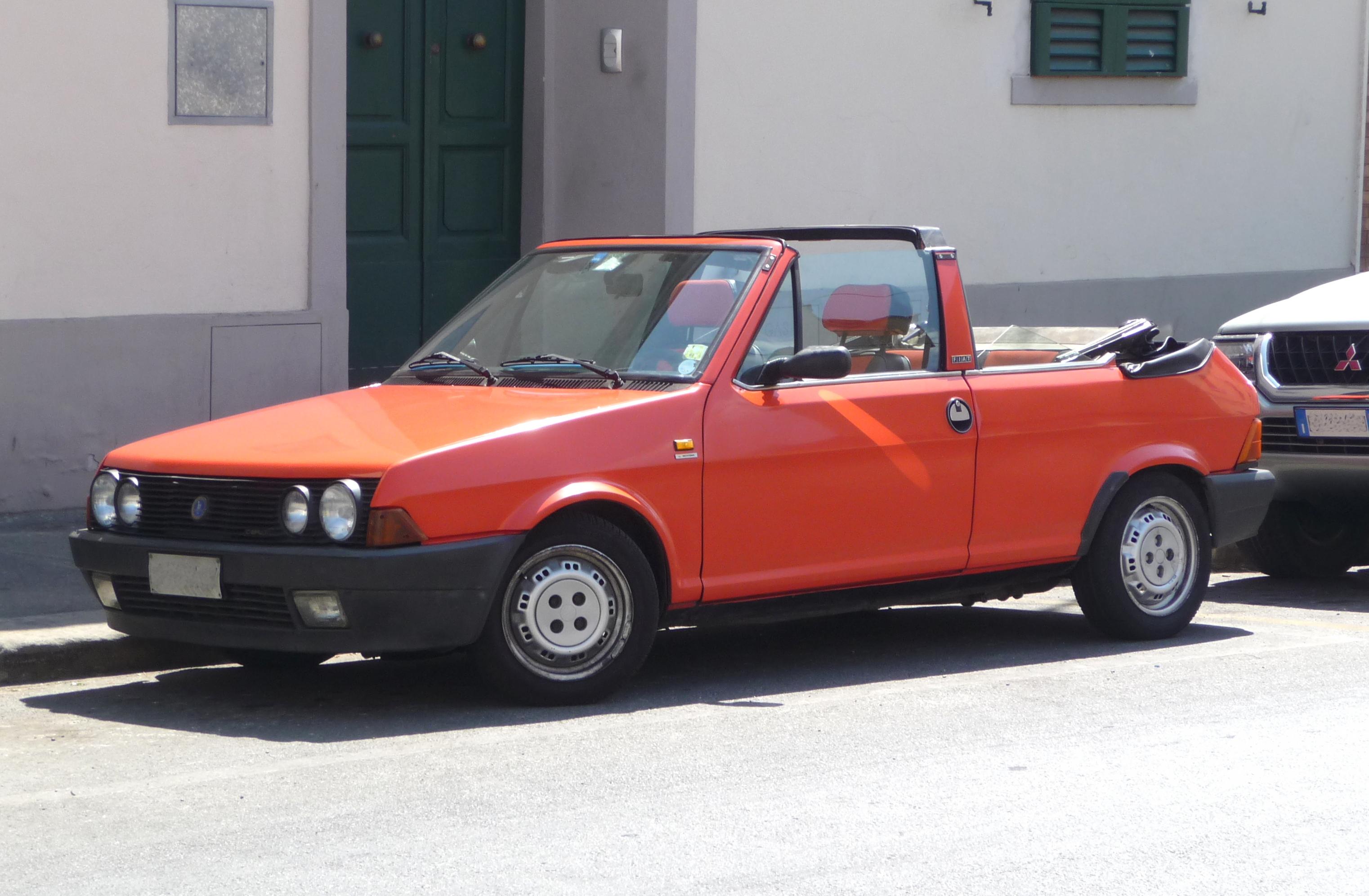 Fiat Ritmo Cabriolet (von 1981