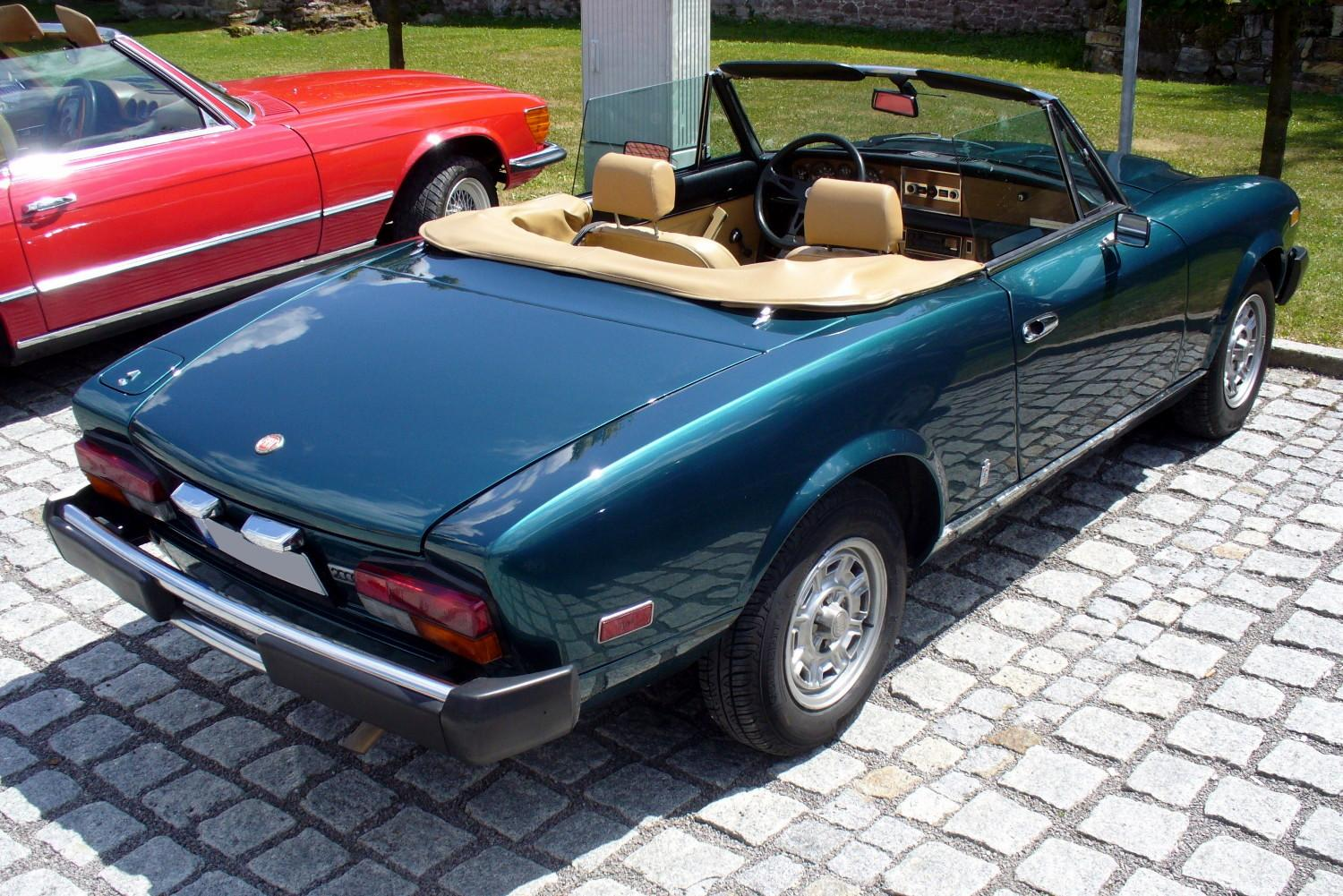 1970 Fiat 124 Spider BS1 in