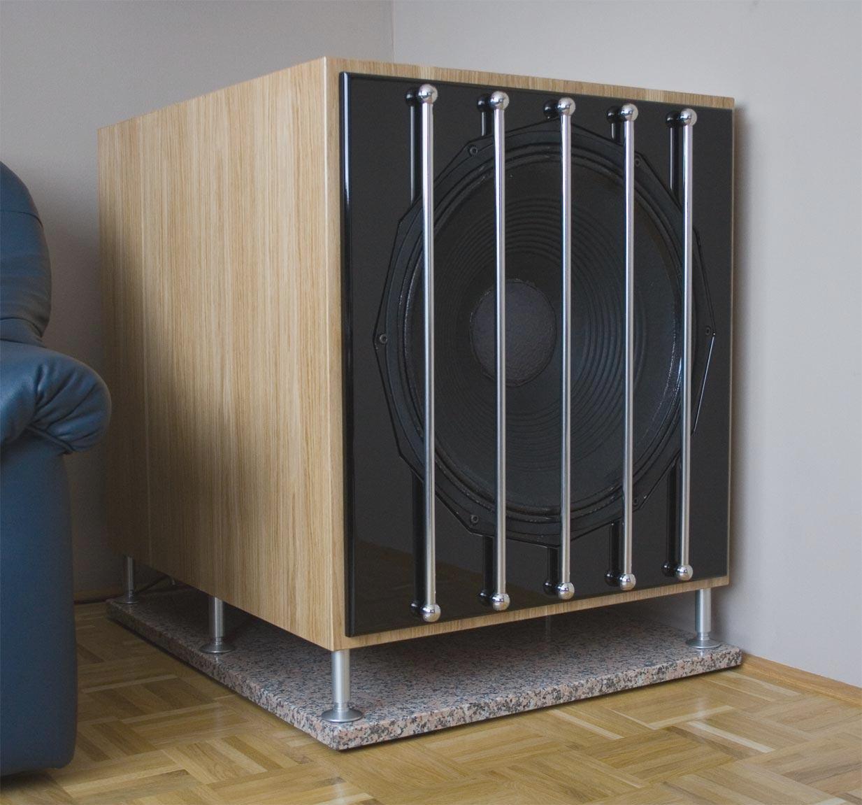 subwoofer. Black Bedroom Furniture Sets. Home Design Ideas