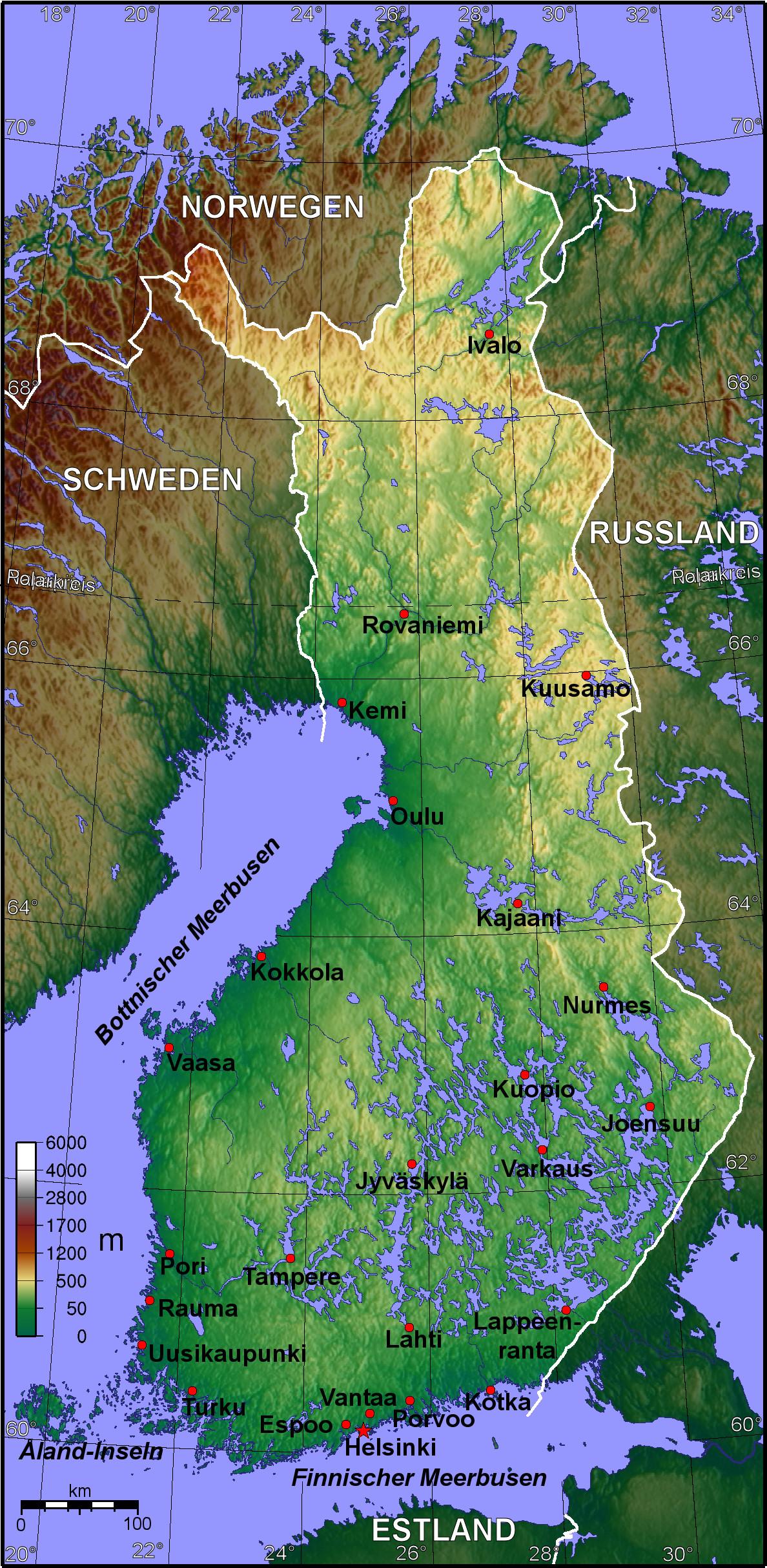suomi finnland