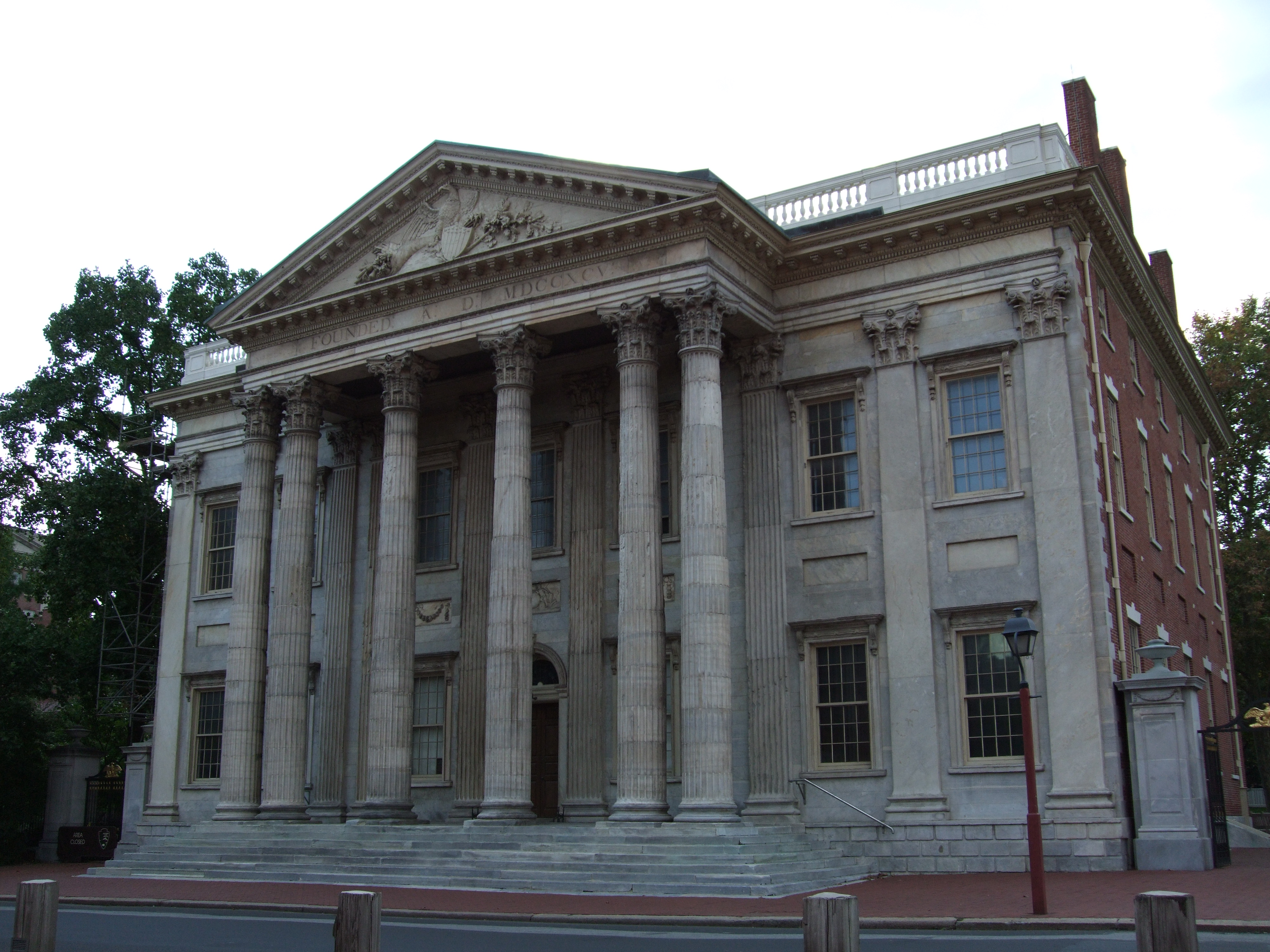 Hamilton (AL) United States  city pictures gallery : First Bank of the United States