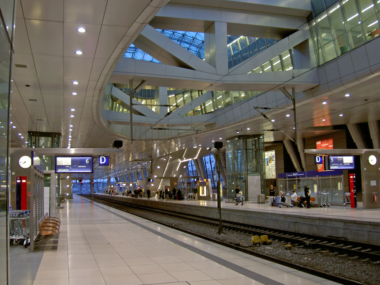 Frankfurter Flughafen Bahnhof
