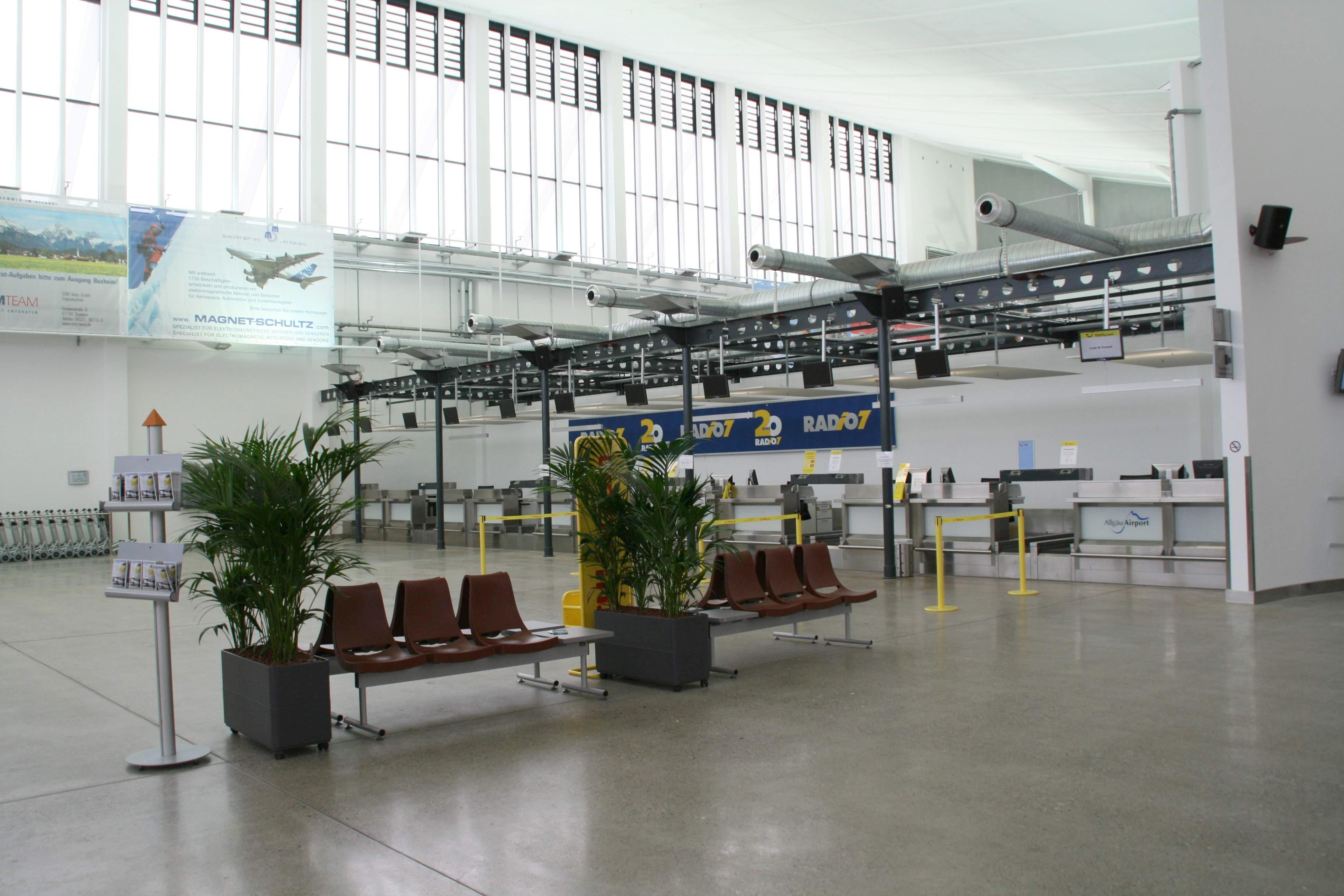 Indianapolis Airport Rental Car Map