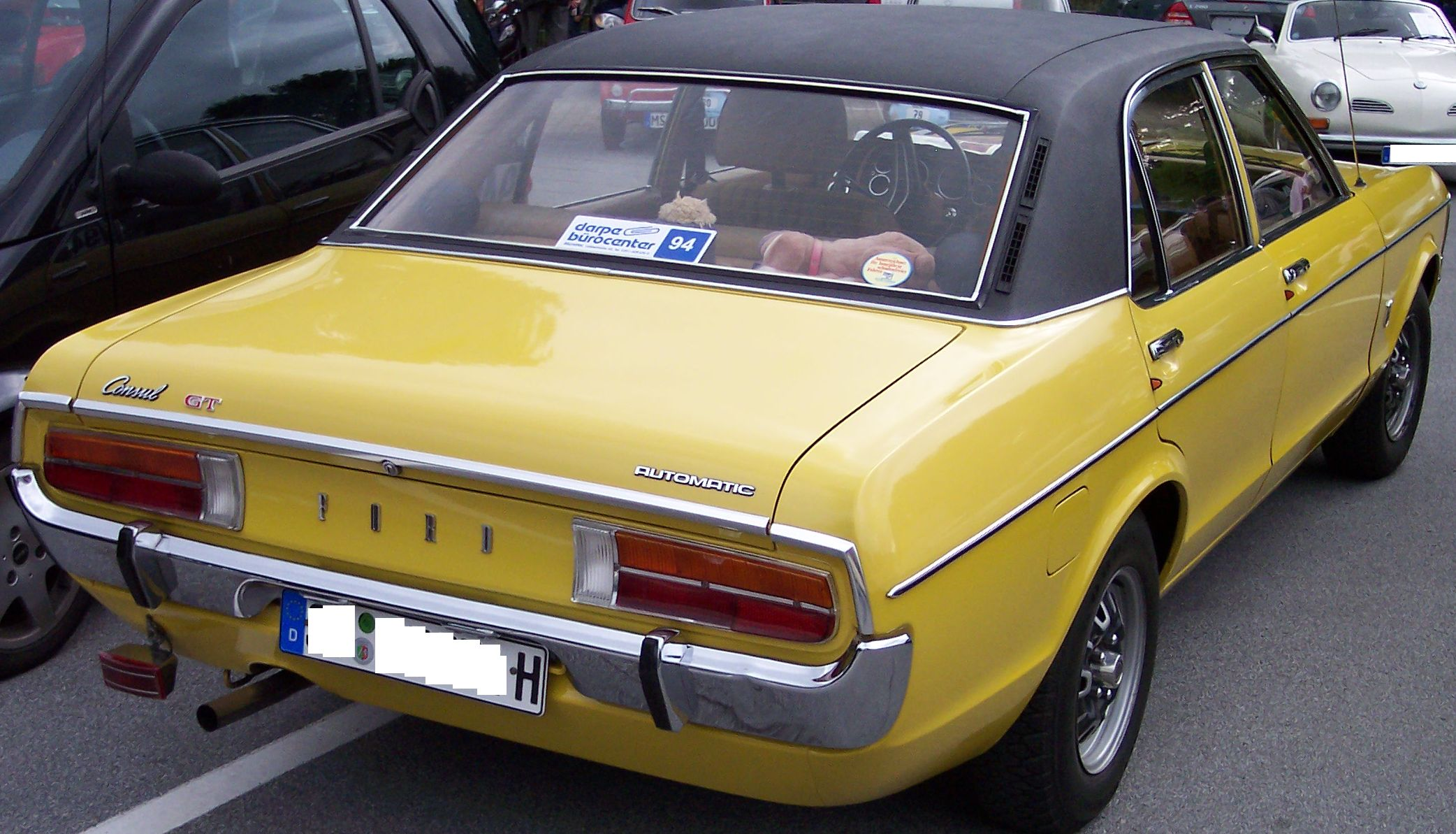 Ford consul for Consul consulis