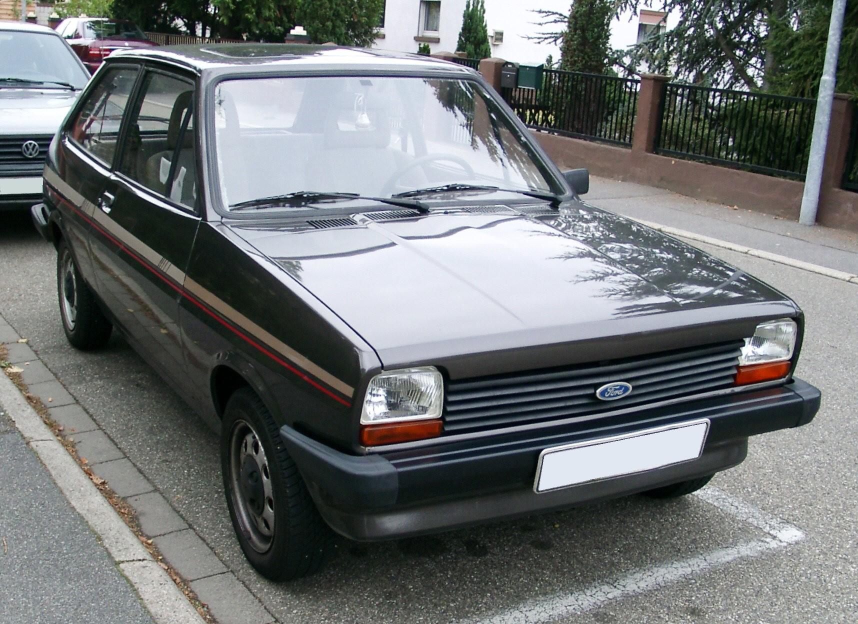 Ford Fiesta '82 (1981–1983)
