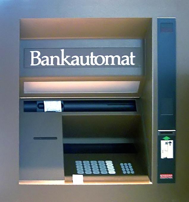 einzahlung am automaten