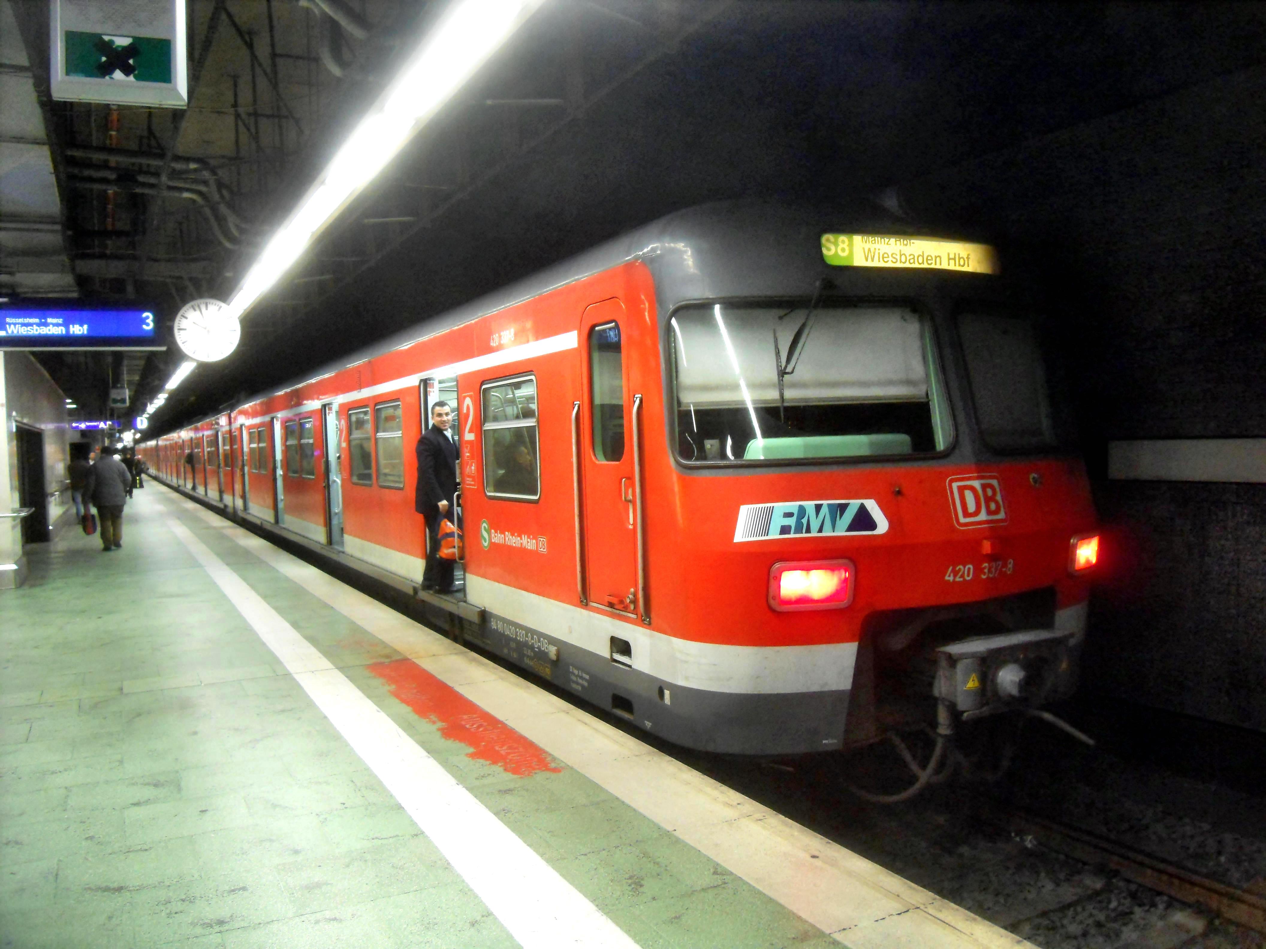 Großstörung S Bahn Frankfurt