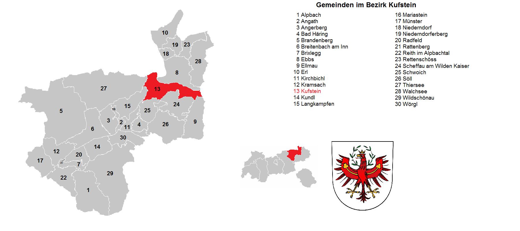 Todesanzeigen Bezirk Kufstein