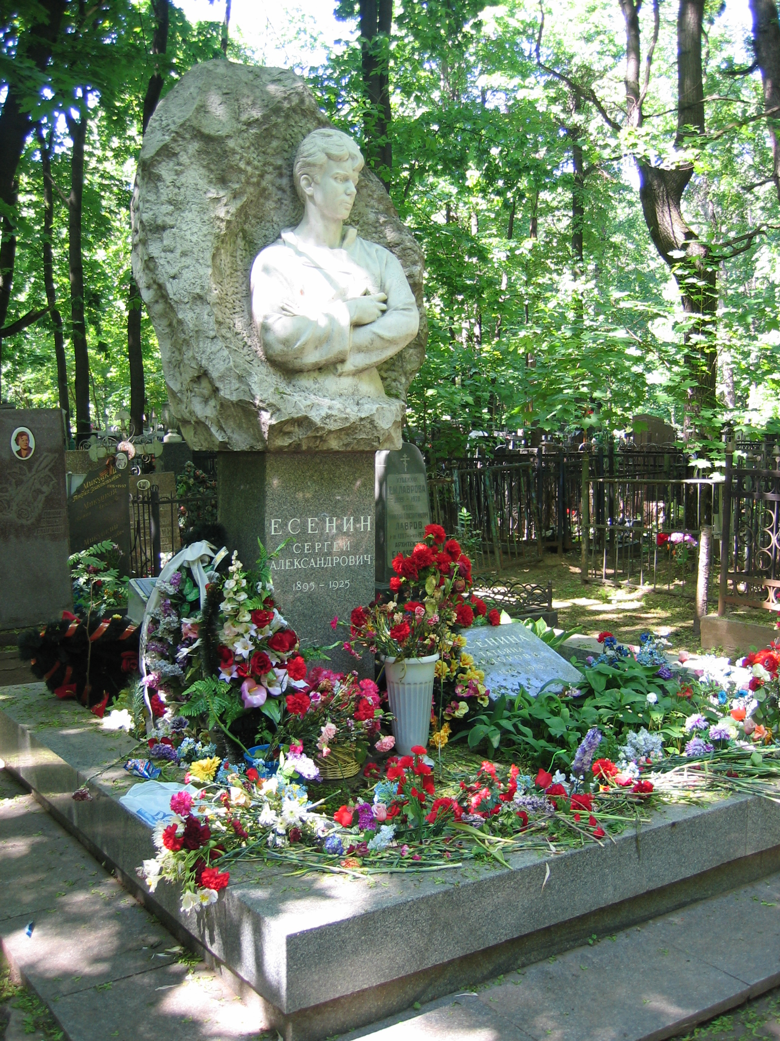 Где находиться ваганьковское кладбище