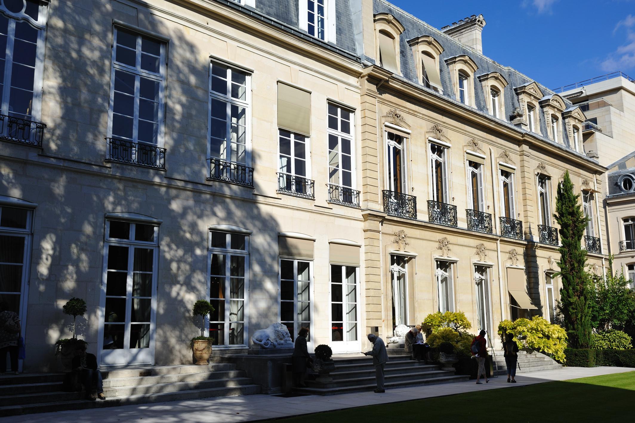 Liste der monuments historiques im 7 arrondissement paris for Liste des hotels paris