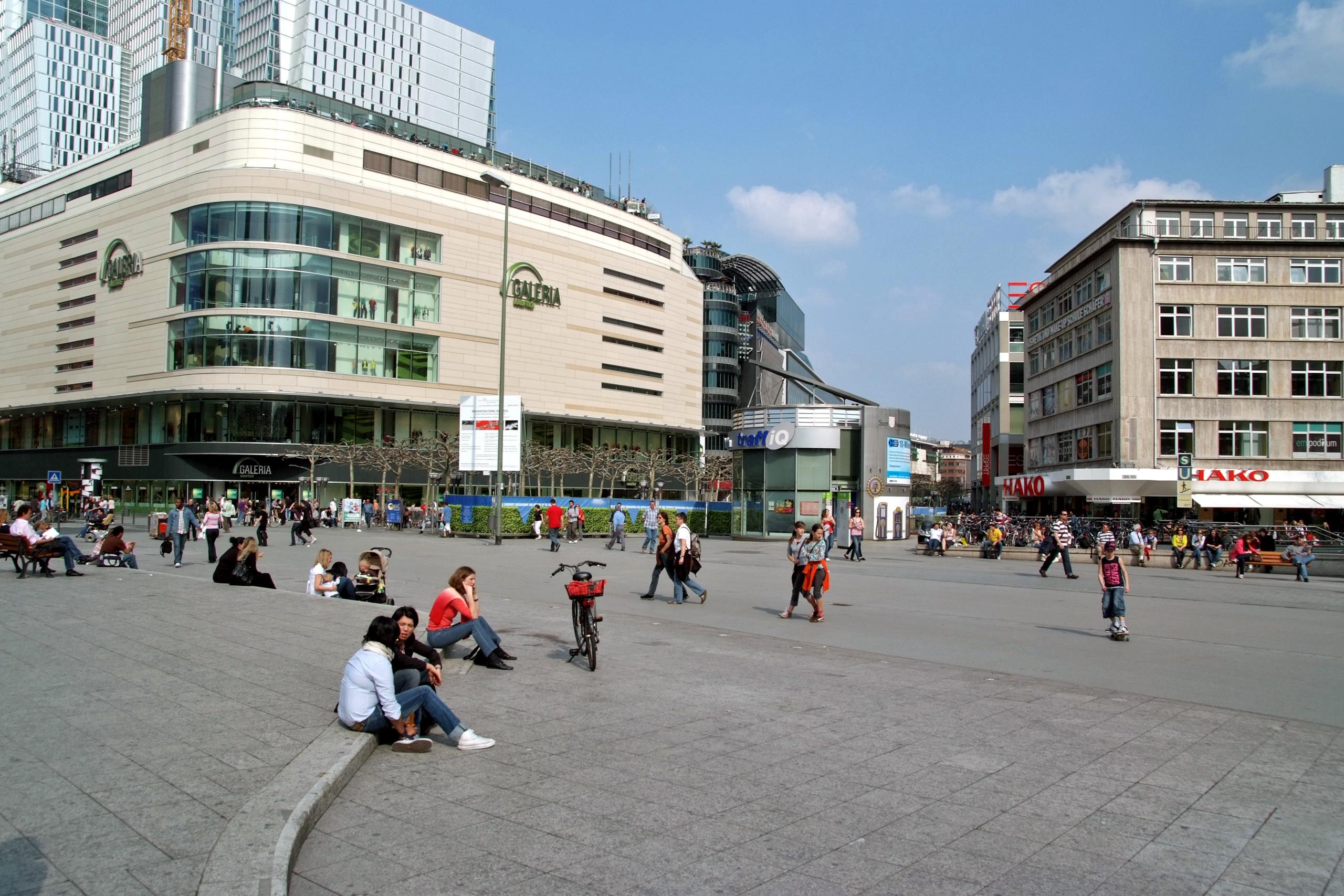 Frankfurt hauptwache for Esszimmer zeil am main