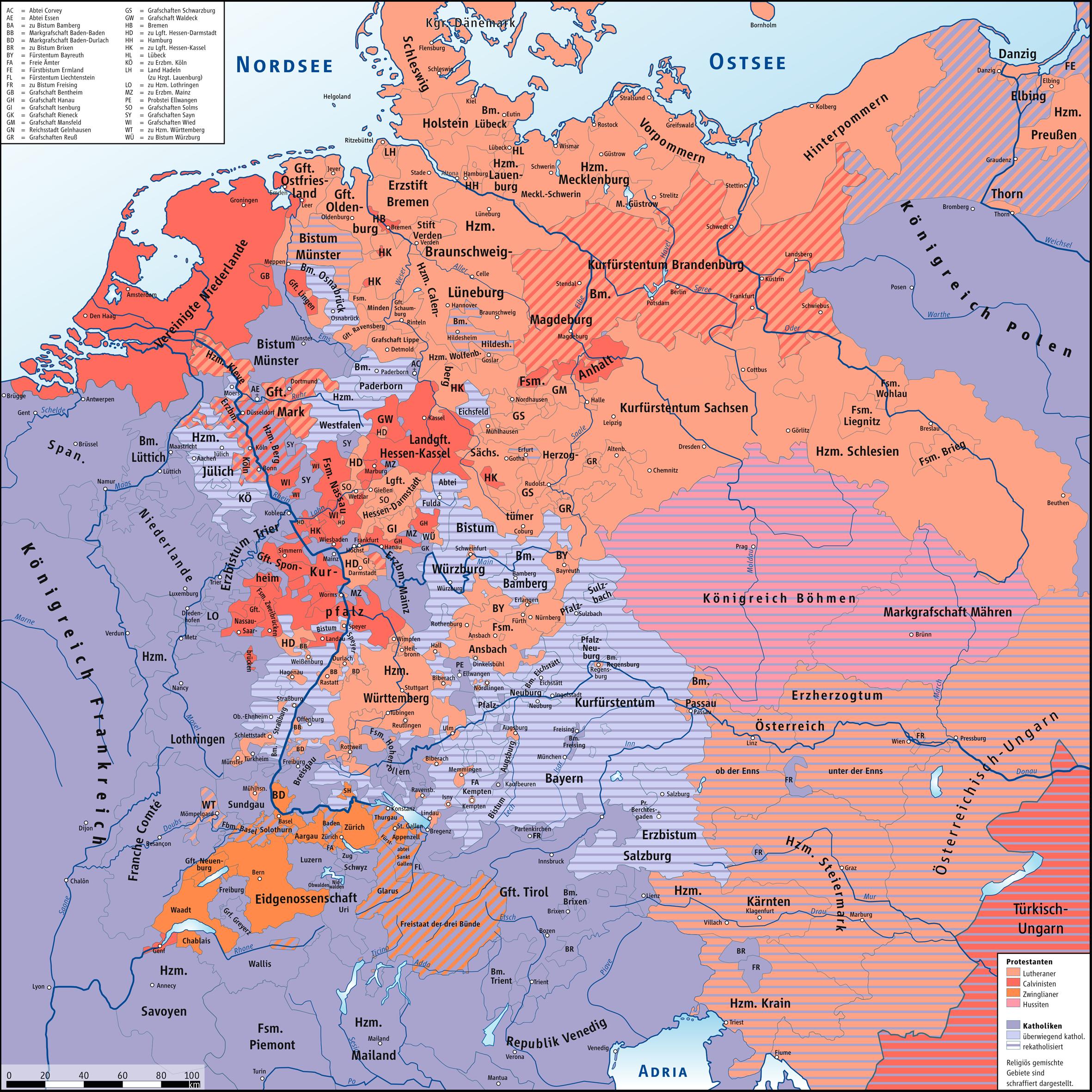 Protestanten Deutschland