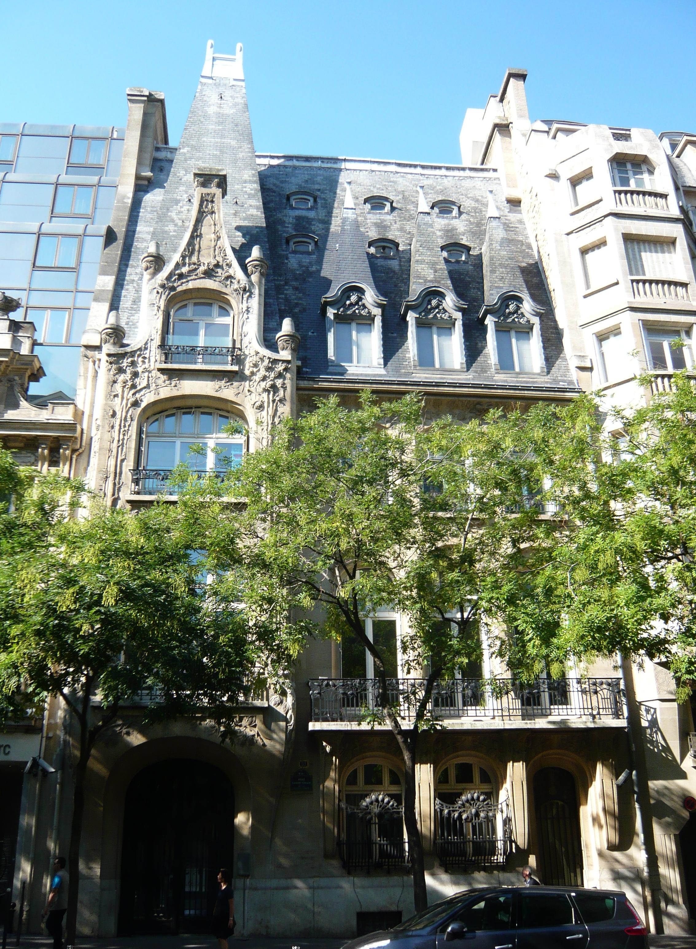 Liste der monuments historiques im 16 arrondissement paris for Liste des hotels paris