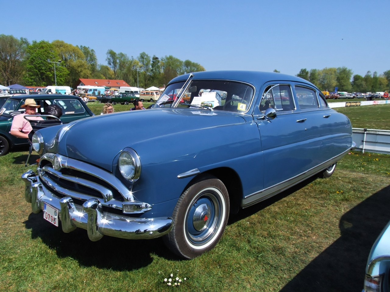 Automotive Led: 1952 Hudson Commodore-8 Convertible - Accident