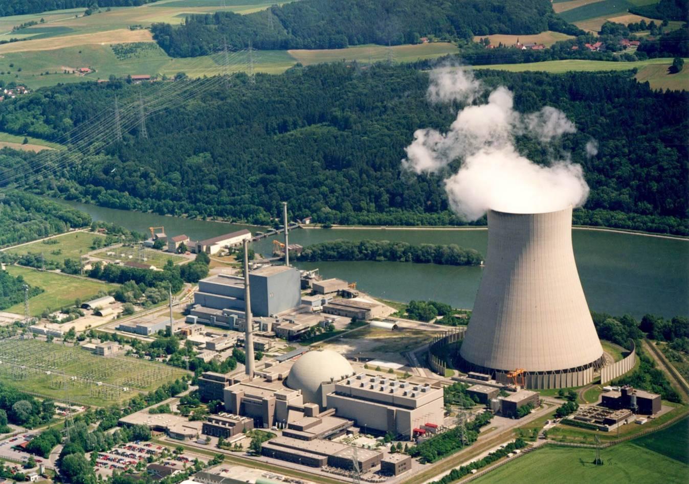 Erstes Kernkraftwerk