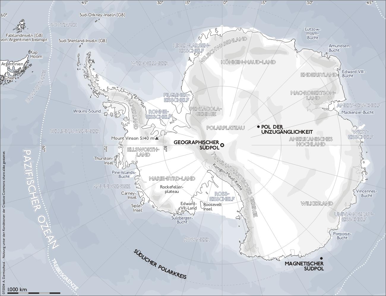 Südpol der unzugänglichkeit