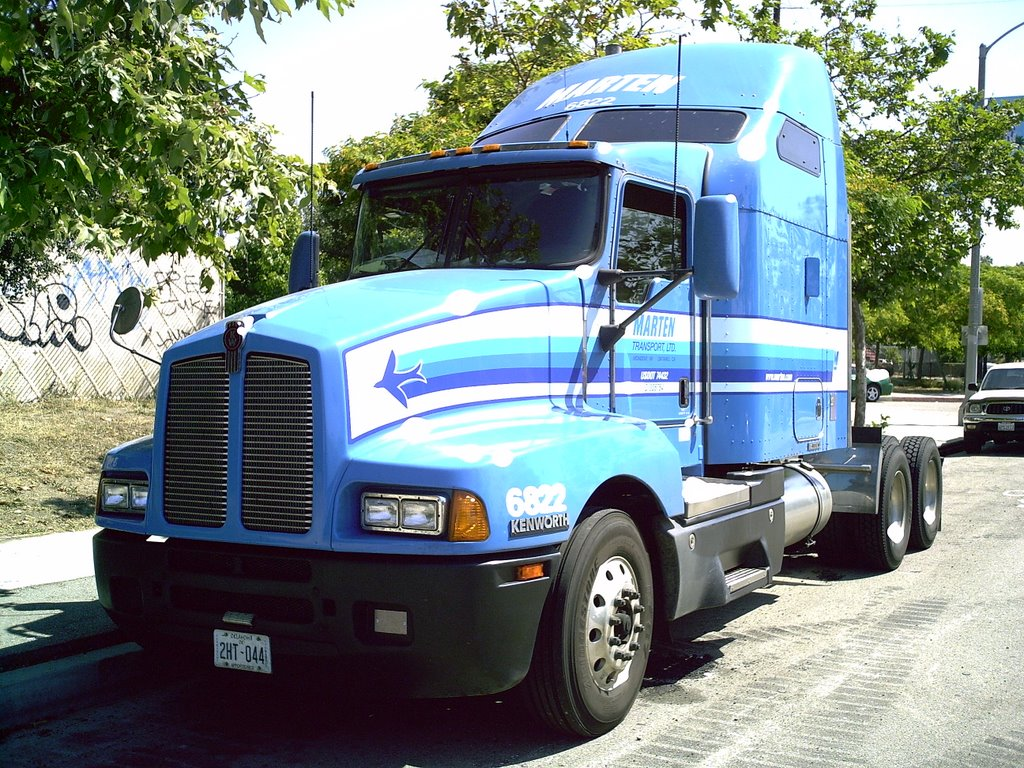 Kenworth for Camion americain interieur cabine