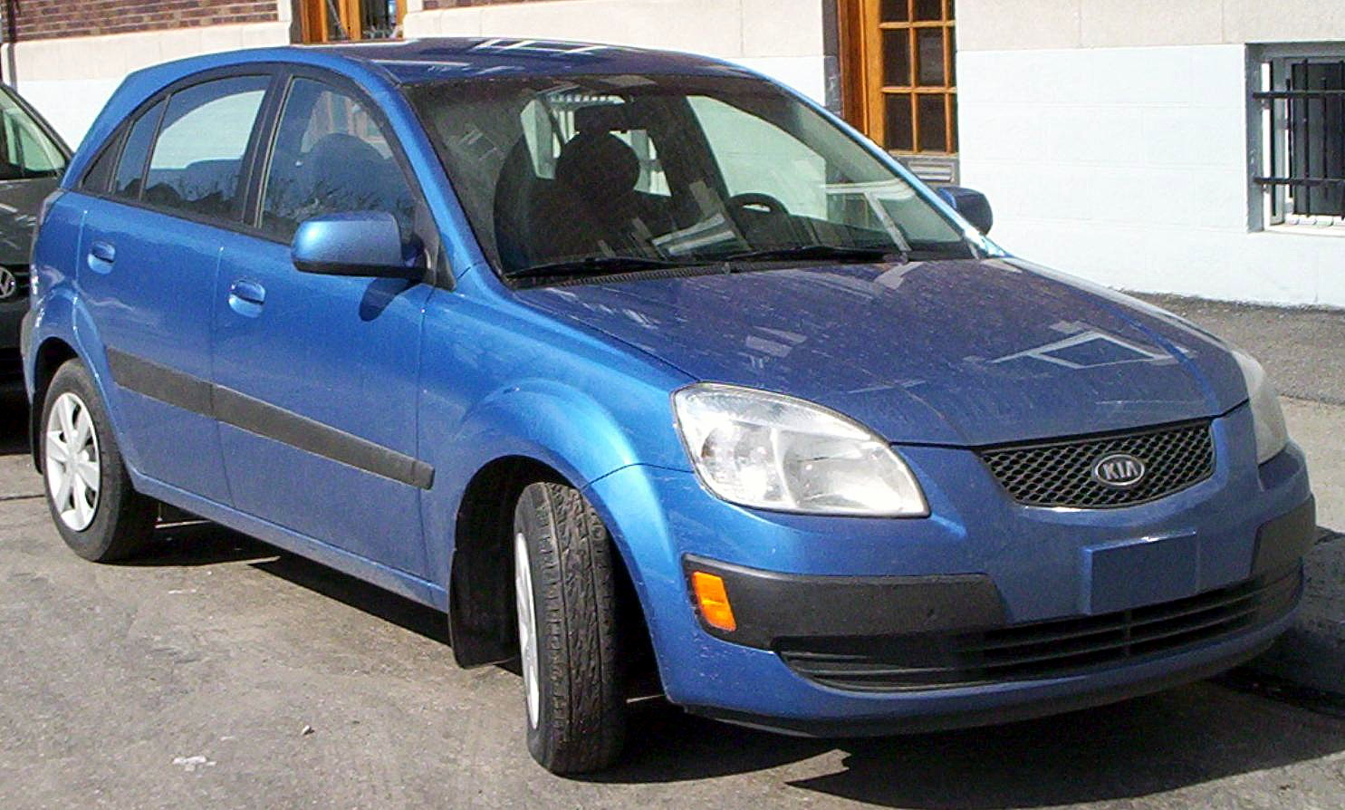 Kia Rio Hatchback.