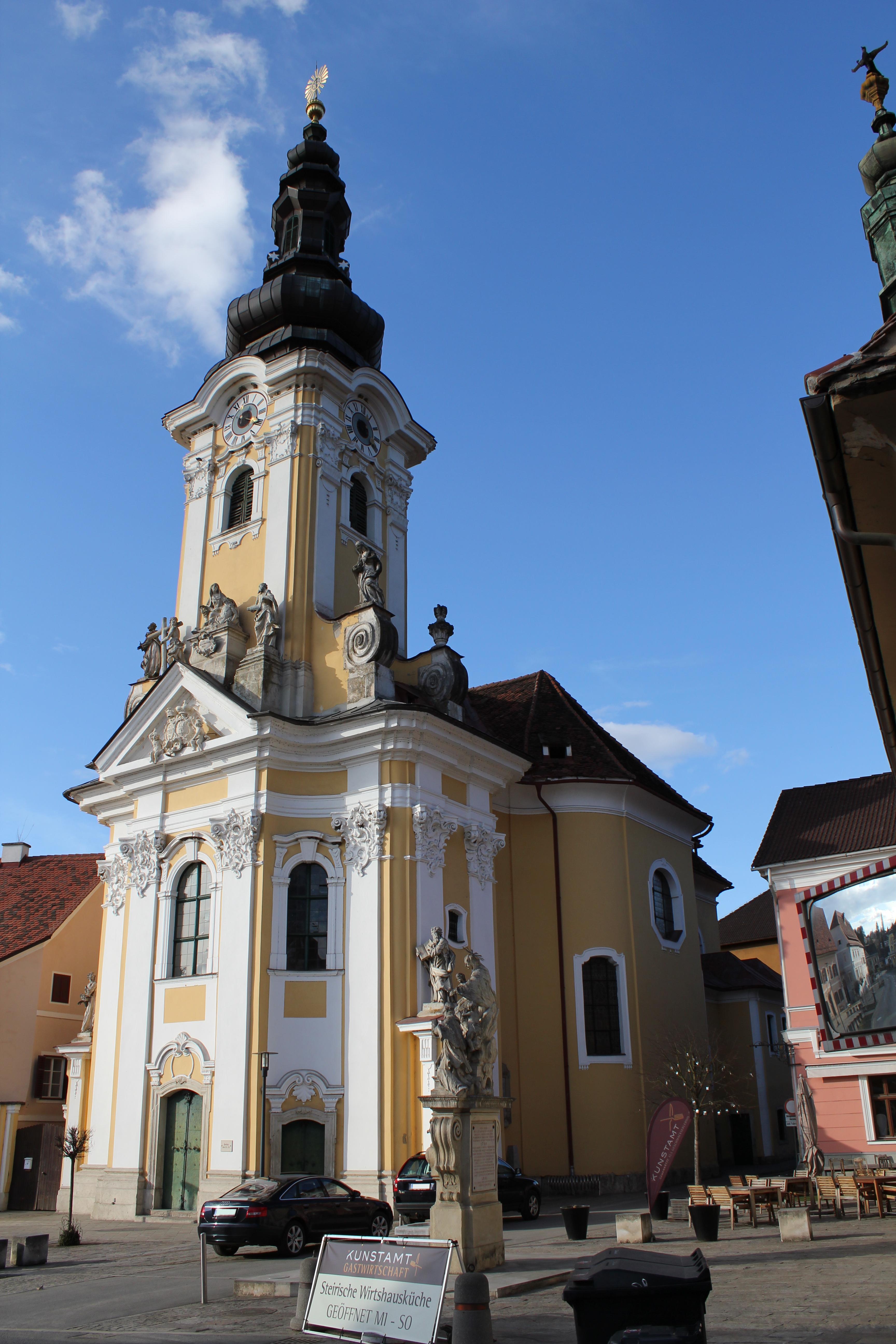 Ehrenhausen Austria  City new picture : Pfarr und Wallfahrtskirche in Ehrenhausen