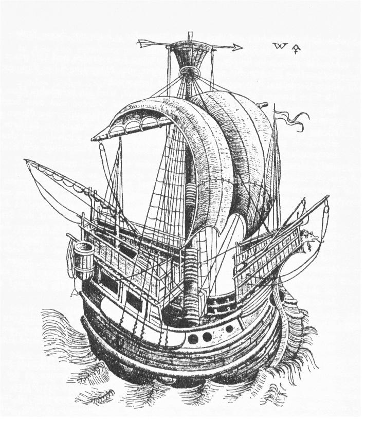 Entwicklungsgeschichte Des Segelschiffs