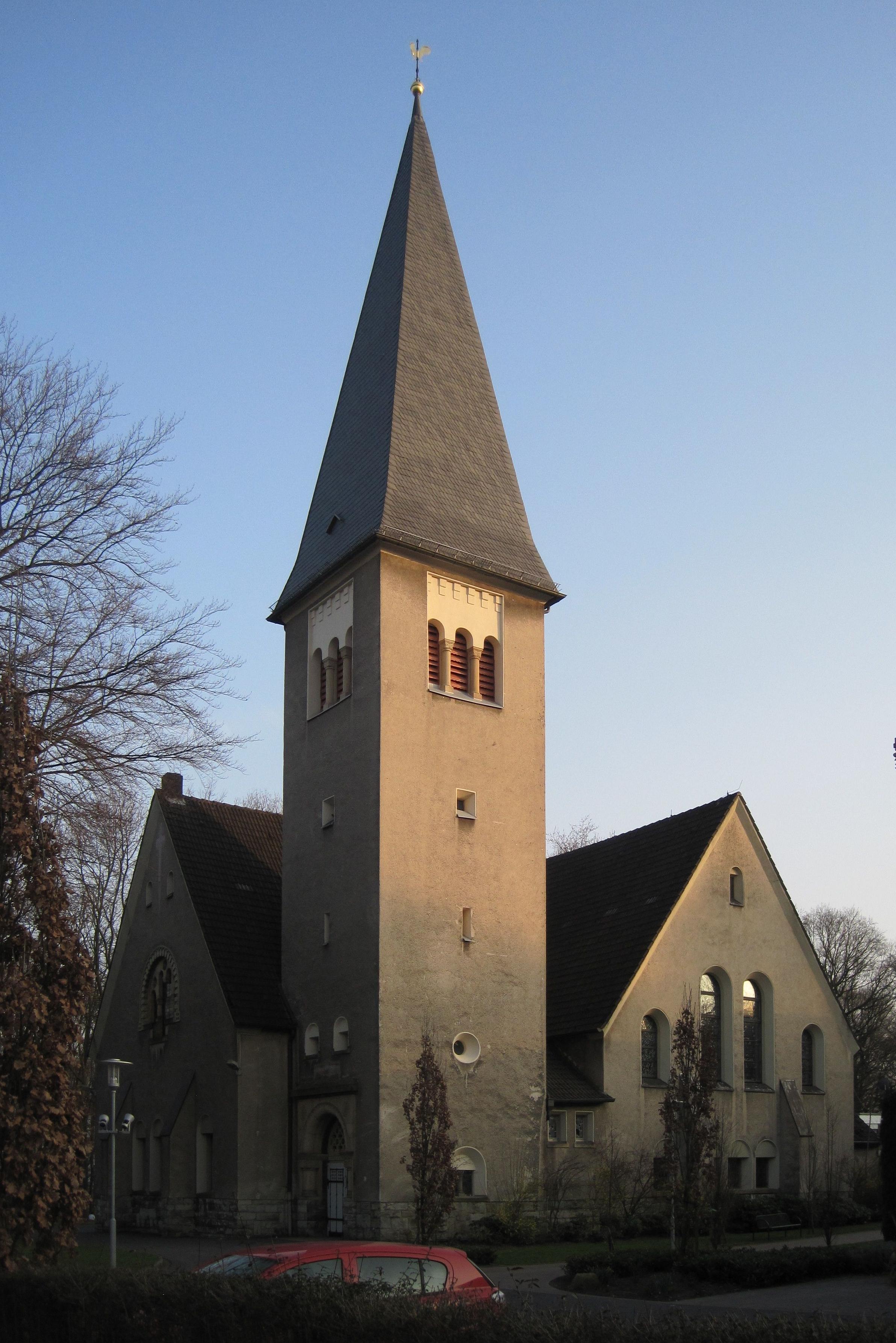 Evangelische Kreuzkirche (Hamm-Bockum-Hövel)