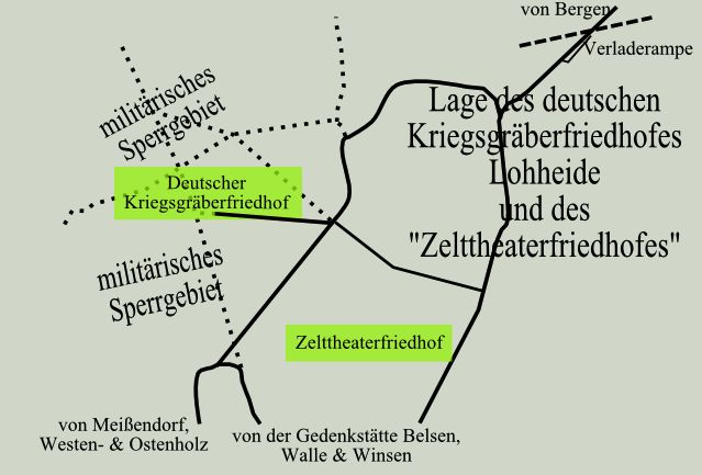 Deutscher kriegsgräberfriedhof lohheide