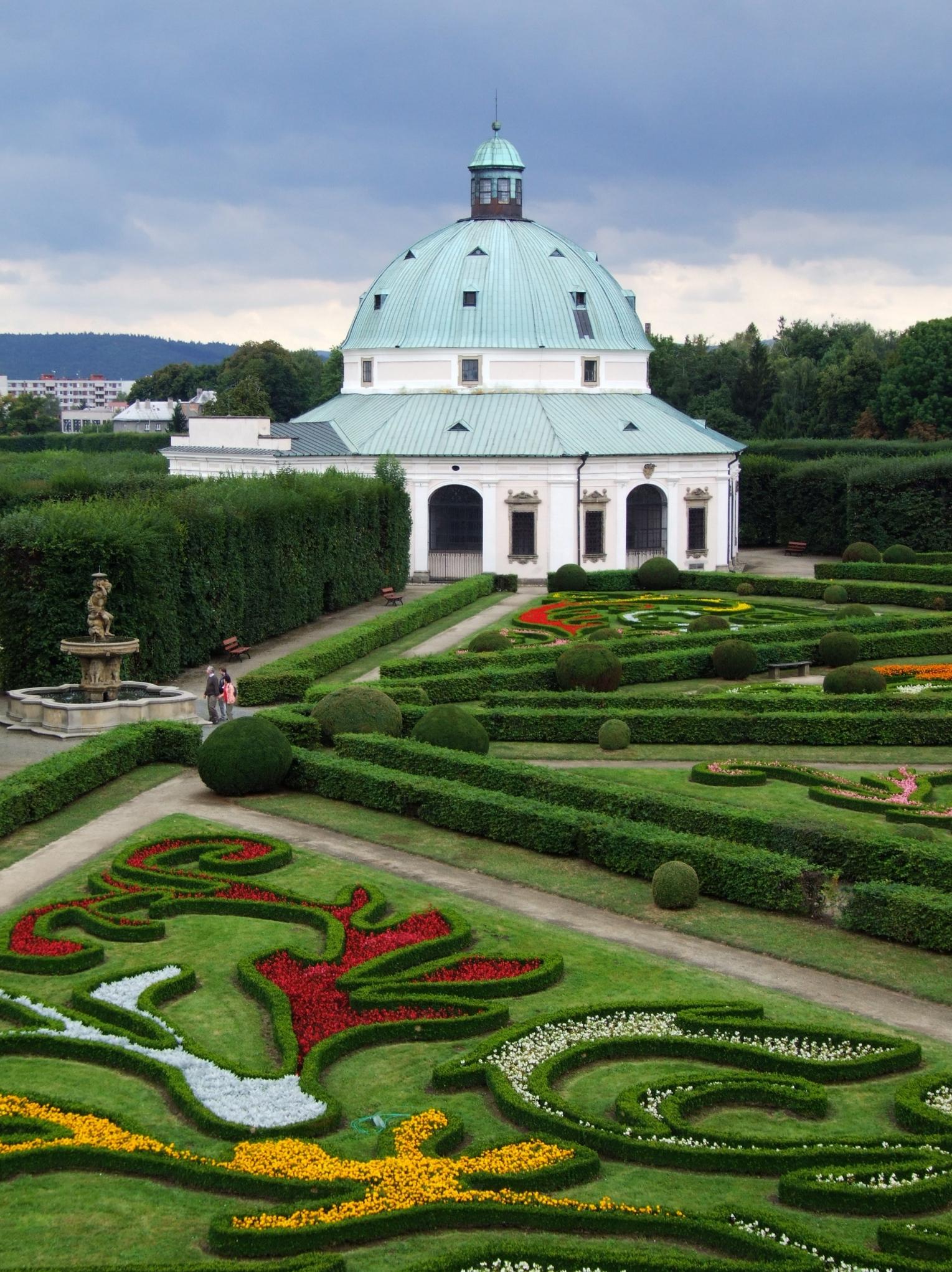 Schloss krom for Jardin spanish