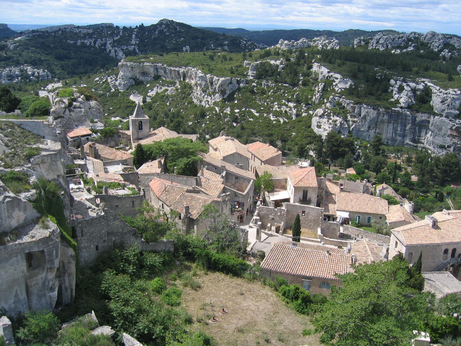 Туры во Францию - Ле Бо де Прованс.