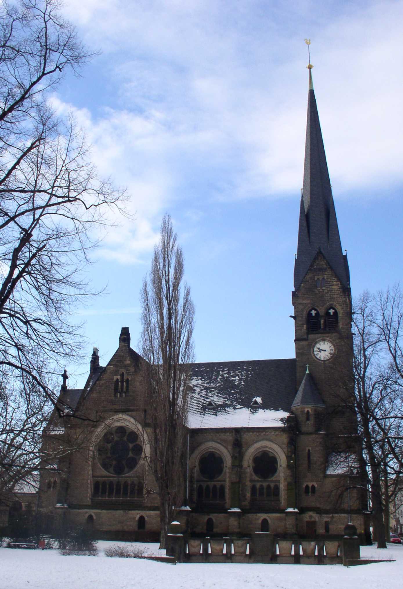 Himmelfahrtskirche berlin wedding