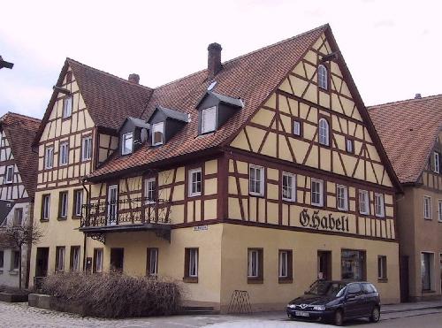 Leutershausen for Fachwerk beispiele
