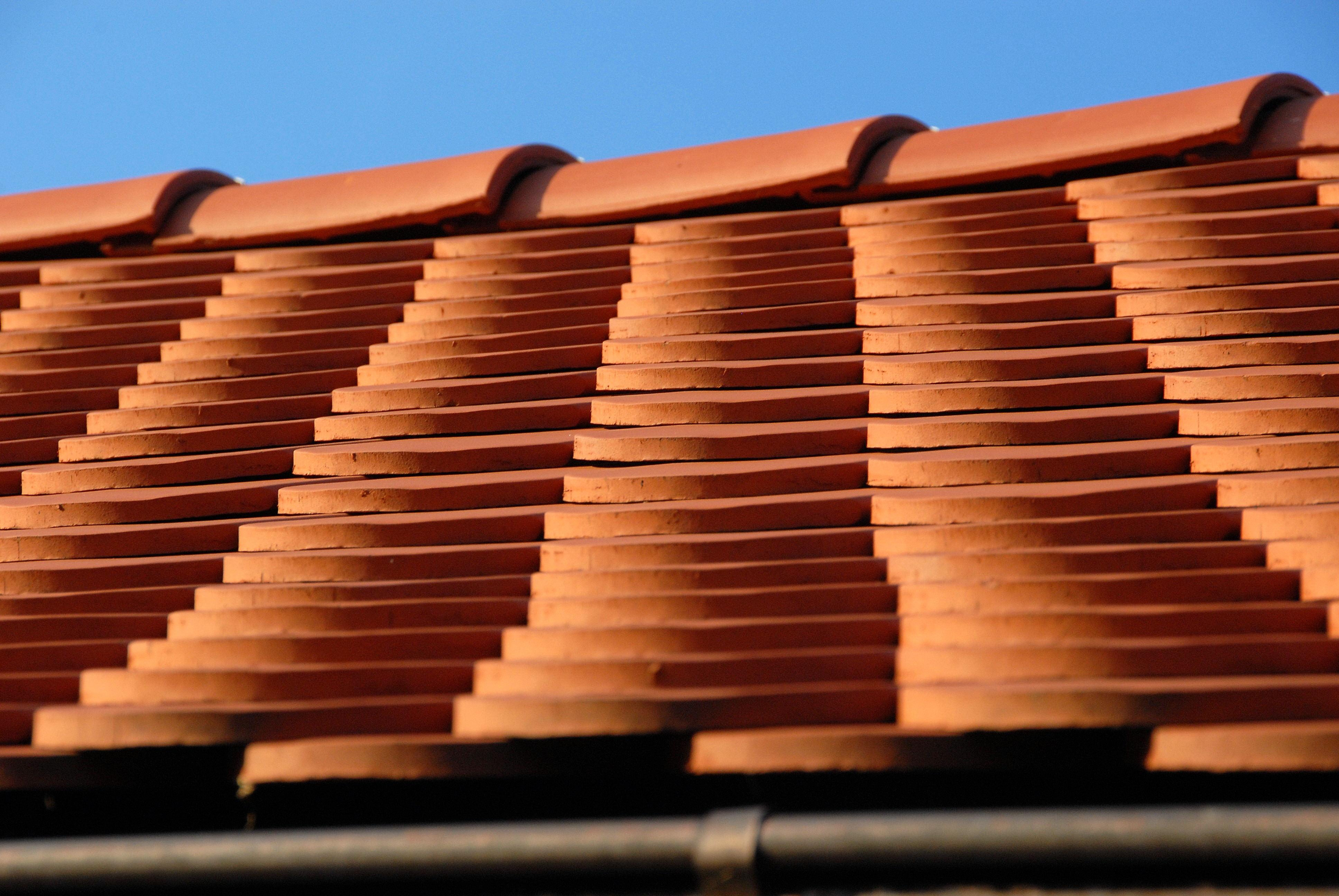 Rote Dachziegel dachpfanne